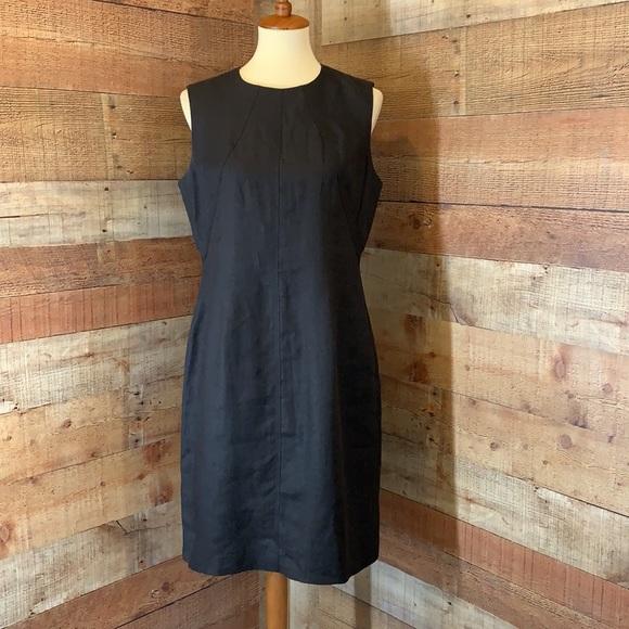 Talbots Dresses & Skirts - TALBOTS Black Linen Lined Sheath Sleeveless Dress